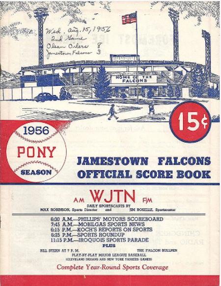 Jamestown Falcons, 1956.