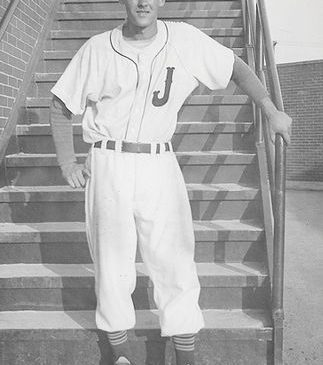 Al Taylor at Municipal Stadium