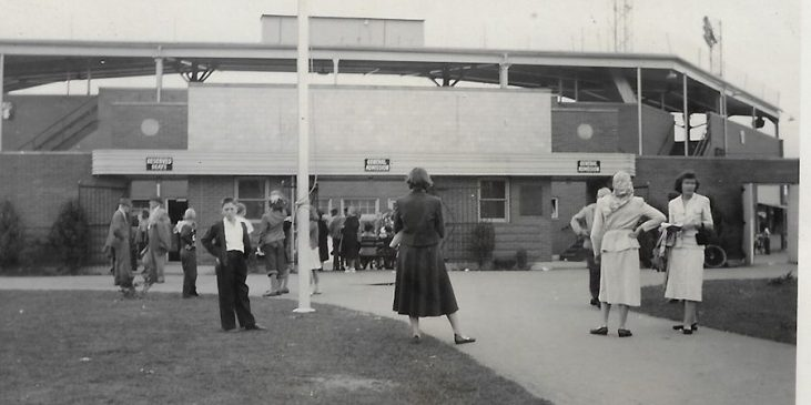 Municipal Stadium entrance