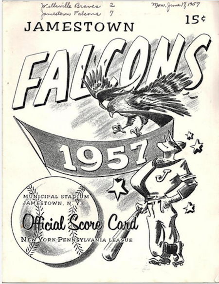 Jamestown Falcons, 1957.