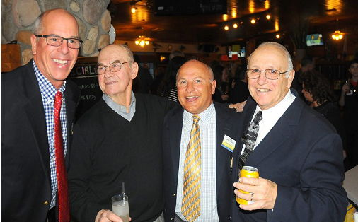 Tom Heppeler, Art Asquith, John Bongiovanni and Pete Criscione.