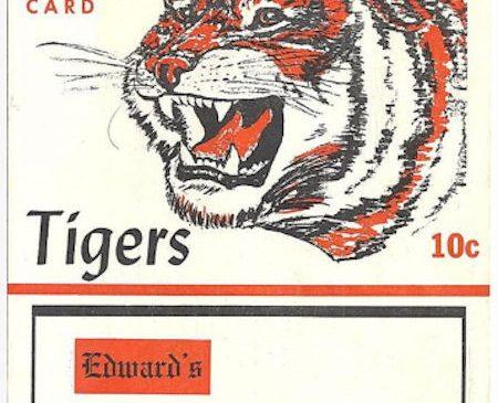 Jamestown Tigers, 1962.