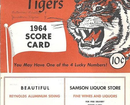 Jamestown Tigers, 1964.