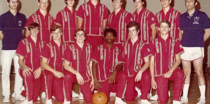 1971-72 JHS basketball team