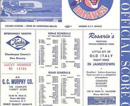 1967 Braves program