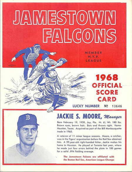 1968 Jamestown Falcons