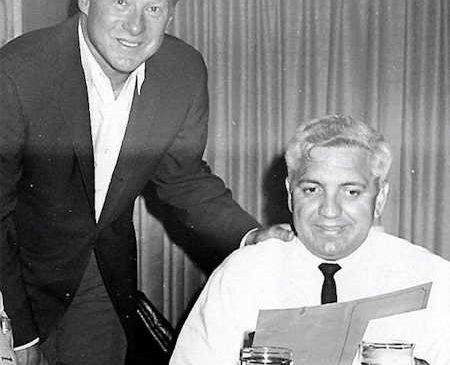 GM Jackie Jensen and Russ Diethrick