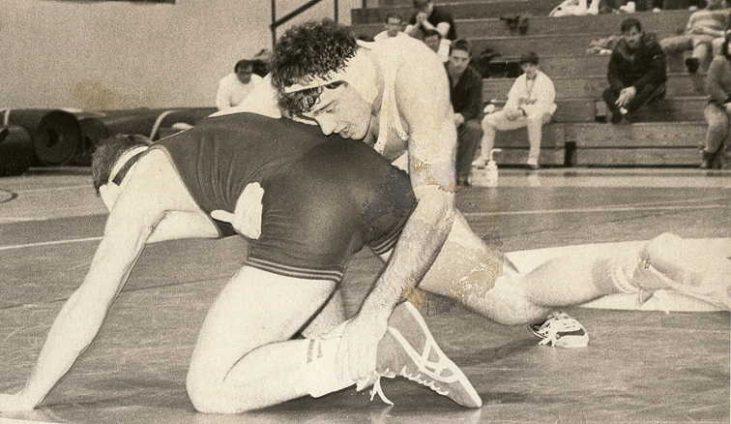 Kevin Davenport wrestling