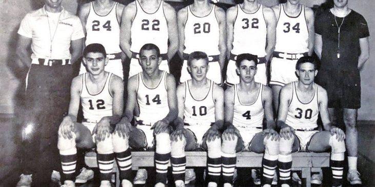 1963 Panama basketball team.
