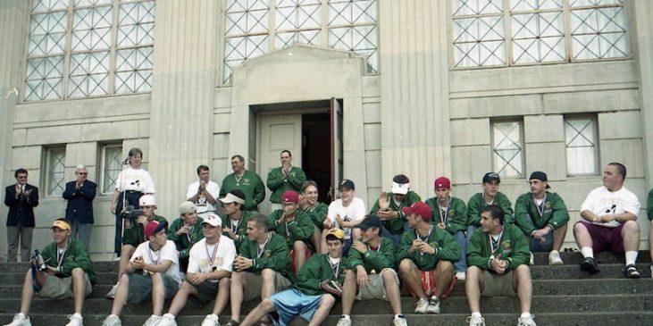 Falconer Central School baseball team