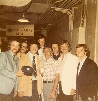 Group with Phil Rizzuto