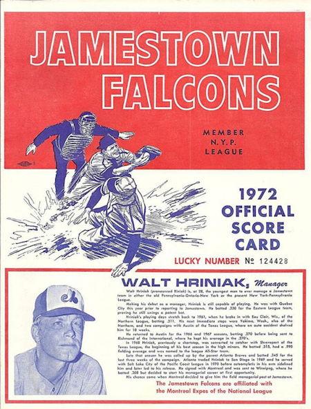 1972 Jamestown Falcons