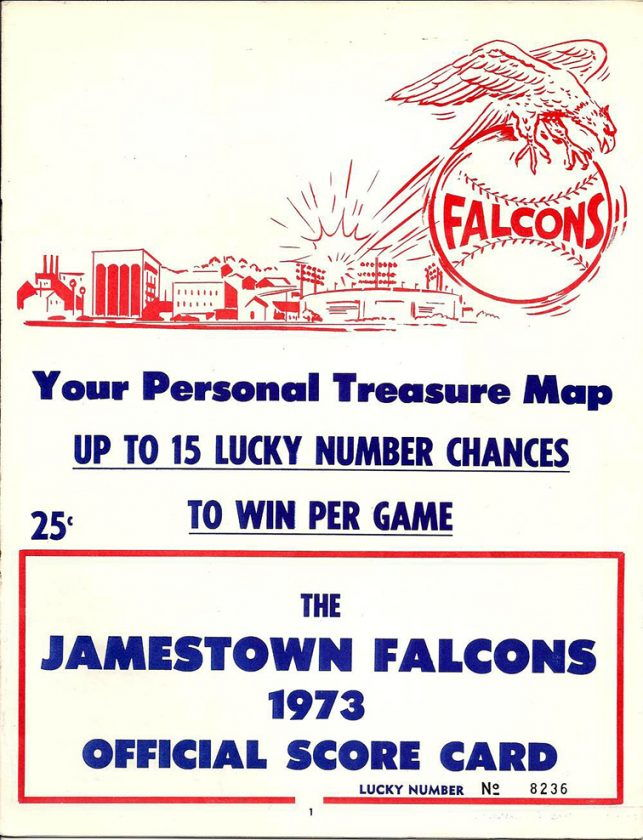 1973 Jamestown Falcons