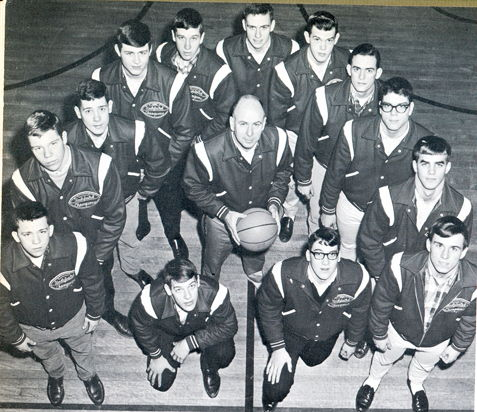 Red Dragons basketball team.