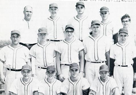 Lewellen coached baseball team