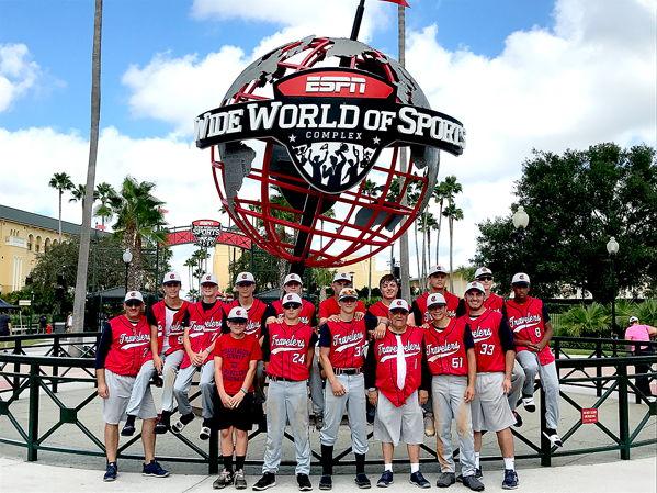 The Chautauqua County Travelers baseball team
