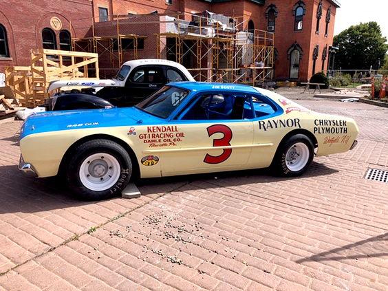 One of Scott's replica cars.