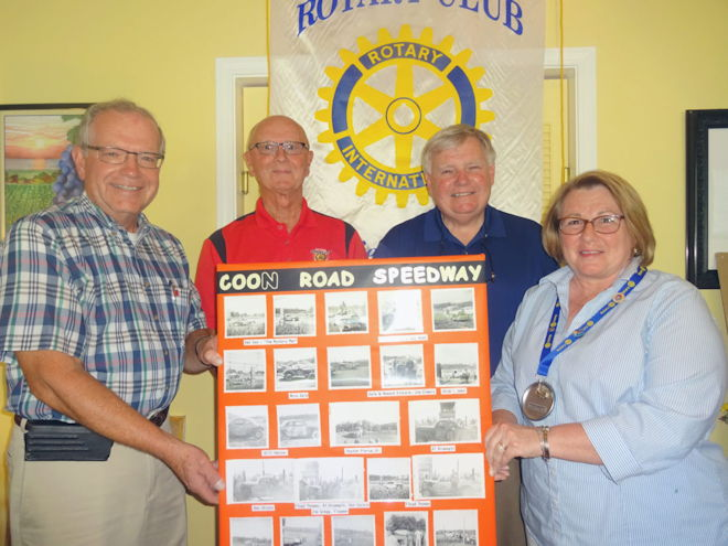 Rotary Club of Westfield-Mayville's meeting guest speakers.
