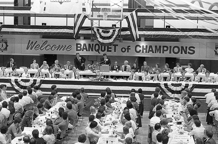 Babe Ruth World Series banquet.
