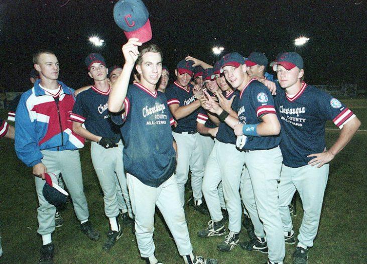The 1995 Chautauqua County 16-year-old all-star baseball team.