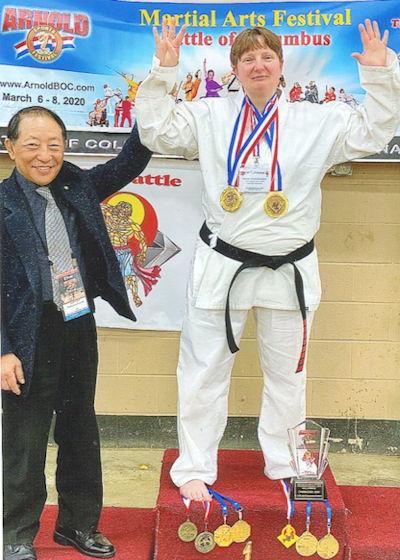 Kyoshi Christina Kebort and Supreme Grandmaster Joon P. Choi