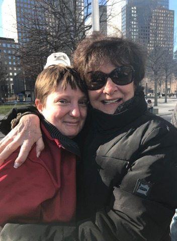 Christina Kebort, left, and Lillian Reis.