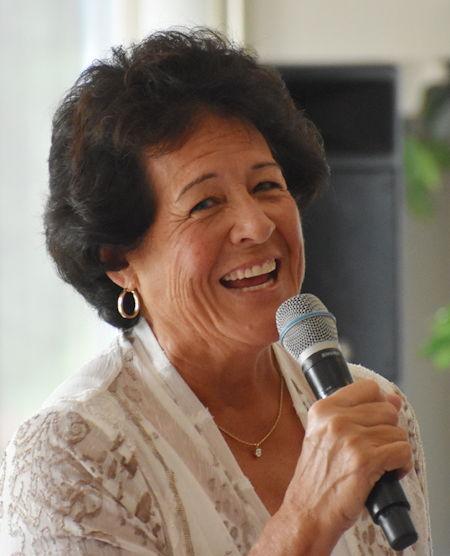 Nancy Lopez at Chautauqua.
