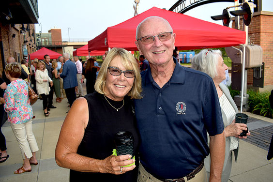 Cindy Miller with Randy Anderson.