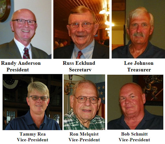 2021-2022 CSHOF Officers